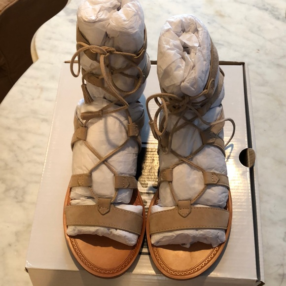 a1d0d493debc New Frye short gladiator sandals